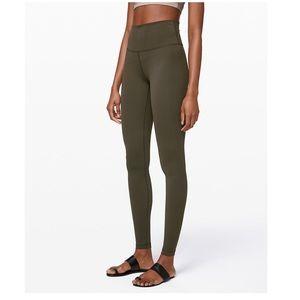 Olive Green LuluLemon Leggings